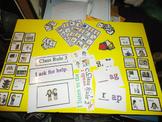VIPKID - Level 2 Unit 3 Set - Props Rewards Activities - Teacher Talk Rules Unit