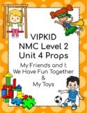 VIPKID Level 2 Unit 4 Props
