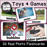 VIPKID Level 2 Unit 5 (Interactive) - We Have Fun/My Toys - Flashcards