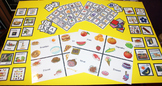 VIPKID - Level 2 Unit 6 Set - Props Rewards Activities - Food Unit