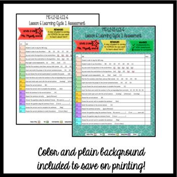Online ESL Teaching Assessment Recording Form (VipKid Level 2)
