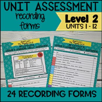 Online ESL Assessment Recording Form (VipKid Level 2)