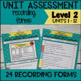Online ESL Assessment Recording Form (VipKid Level 2) - Includes Interactive!