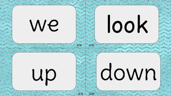 VIPKID Level 2 Units 1-12 sight word flashcards