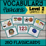 Online ESL Vocabulary Flashcards (VipKid Level 2) INCLUDES INTERACTIVE!!!