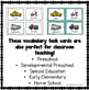 VIPKID Level 2 Vocabulary Prop Cards for online teaching Unit 1 - FREE