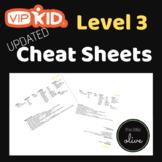 VIPKID Level 3 Cheat Sheet Cards