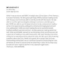 VIPKID Level 3 Feedback Growing Bundle PDF