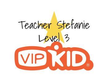VIPKID Level 3 Lesson Names