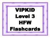 VIPKID Level 3 Sight Word Cards - Print to 4x6 cards