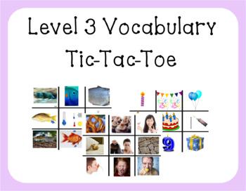VIPKID Level 3 - Tic Tac Toe Reward - Unit 1-5