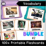 VIPKID Level 3 (NMC): Unit 1-12 Vocabulary Flashcards