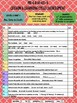 Online ESL Teaching (VIPKID Level 3 Unit 1) Assessment Recording Form - FREE