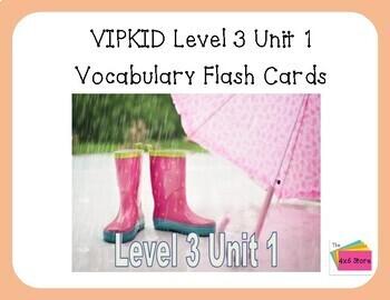 VIPKID Level 3 Unit 1 - Mini-flip calendar, Days, Months, Ordinal Numbers
