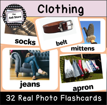 VIPKID Level 3 Unit 2: What Are You Wearing, Clothes for the Seasons Flashcards
