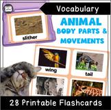 VIPKID Level 3 Unit 4: Animal Body Parts, How Do Animals M