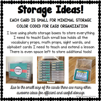VIPKID Level 3 Vocabulary Prop Cards for online teaching Unit 5 - FREE