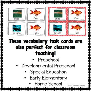 Online ESL Teaching Vocabulary Prop Cards -  (VIPKID Level 3) Unit 5 - FREE