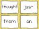 VIPKID Level 4 Sight Words Units 1 - 12 for Online Teaching