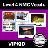 VIPKID Level 4: Unit 1-12 Vocabulary Flashcards