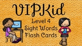 VIPKID Level 4 Units 1-12 sight word flashcards