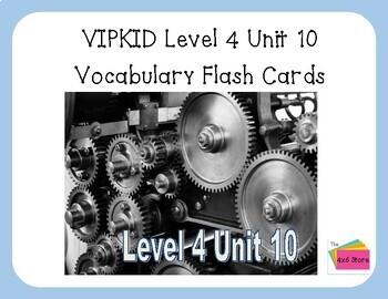 VIPKID Level 4 Unit 10: Technology Flashcards