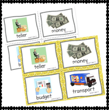 Online ESL Teaching Vocabulary Prop Cards (VIPKID Level 4)