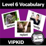 VIPKID Level 6: Units 1-12 Vocabulary Flashcards