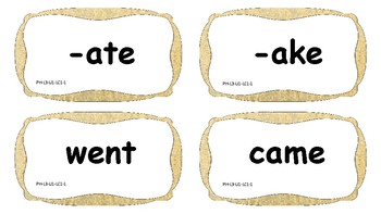 VIPKID Level 3 Phonics Word Cards
