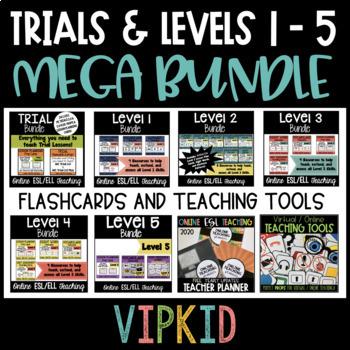 Online ESL Teaching MEGA BUNDLE! (VIPKID Levels 1 - 5)