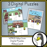 VIPKID / gogokid - May/June Digital Puzzles (ManyCam / CamTwist)