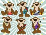 VIPKID: Music Monkeys with Instruments Reward