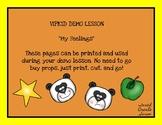 VIPKID My Feelings Demo Lesson Props