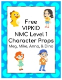 VIPKID Level 1  Props - Free