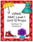 VIPKID Level 1 Unit 12 Props