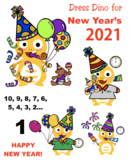 VIPKID - New Year's - Dress Dino for New Year's