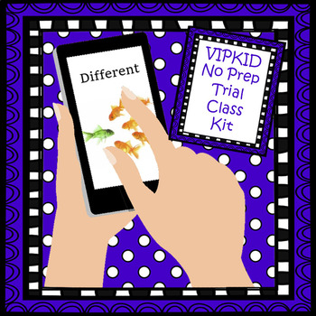 VIPKID No Prep Trial Class Kit