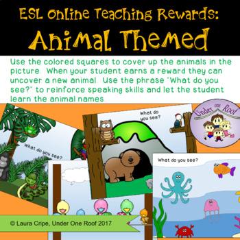 Online Class Reward System: Animal Theme