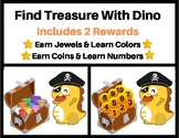 VIPKID: Pirate Dino Treasure Reward (2 in 1)