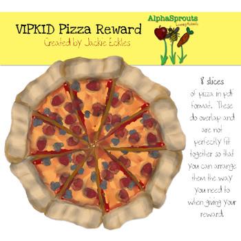 VIPKID Pizza Reward Prop