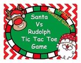 VIPKID REWARD GAME SANTA VS RUDOLPH TIC TAC TOE