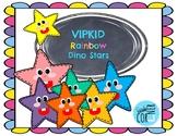 VIPKID Rainbow Dino Stars