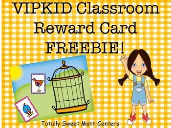 VIPKID Reward Boards- Freebie!