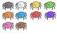 VIPKID Reward: Colorful Spiders