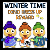VIPKID Reward: Dress up Dino for Winter with extra cute matching outfits