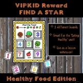 VIPKID Reward Find a Star - Healthy Food -  Level 5 Unit 2