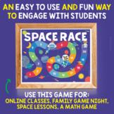 VIPKID Reward Printable | Space Race Game Board | Pieces for Online ESL Teachers