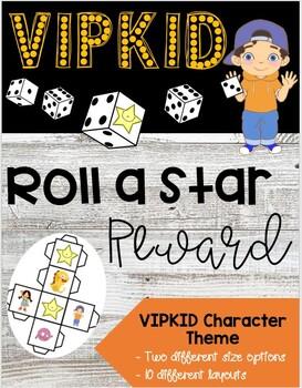 VIPKID Reward - Roll A Star - VIPKID Characters