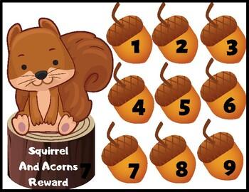 VIPKID Reward: Squirrel & Acorns