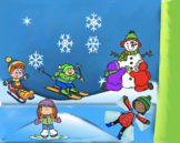 VIPKID Rewards - American Winter Fun in the Snow